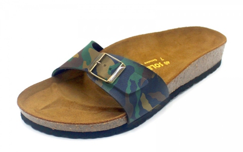 SoleSimple Lyon - Leather Camouflage