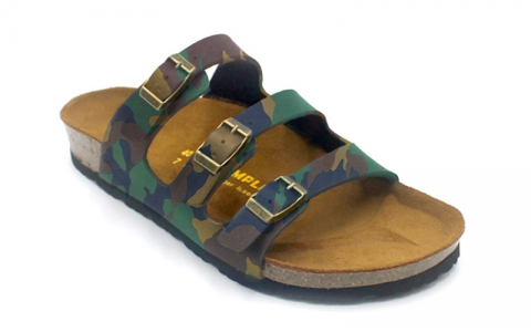 SoleSimple Ely - Leather Camouflage